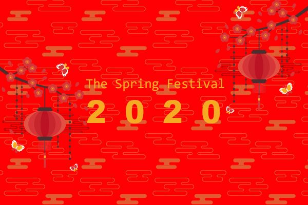 Notice of Spring Festival 2020